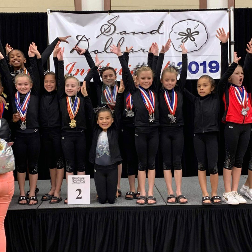 FIF JO Girls Level 2 2nd place team Sand