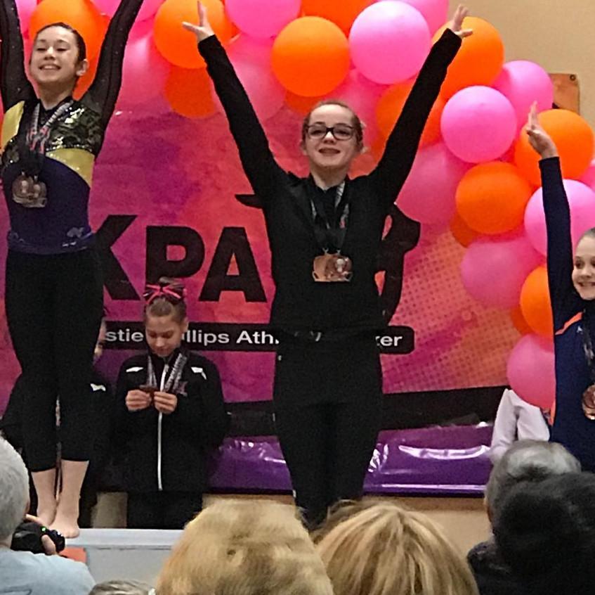 FIF Girls Gymnastics Level 7 Kirsten KPAC Cup 2018