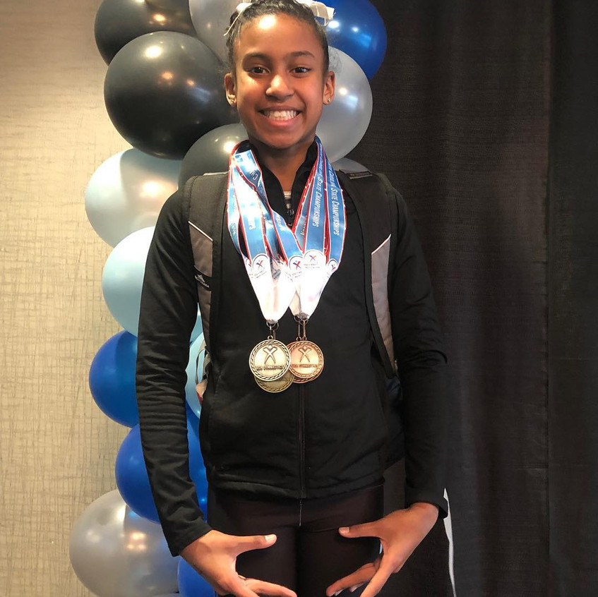 FIF Level 8 Simone 3rd AA and STATE CHAM
