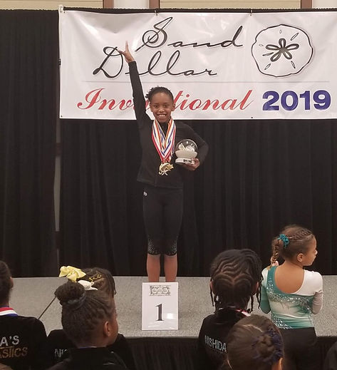 Fif Girls Sand Dollar Invitational 2019 First In Flight Gymnastics