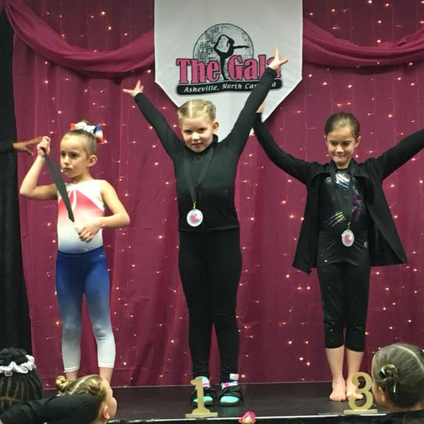 FIF AAU Bronze Karlie 2nd All Around The Gala 2018