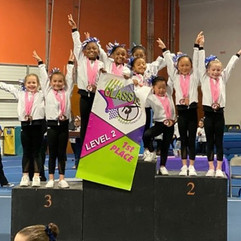 FIF Compulsory Girls have a Top Notch performance at the 2019 Top Notch Classic!