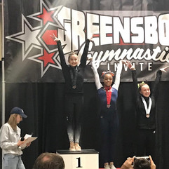 FIF Girls Greensboro Gymnastics Invitational 2019