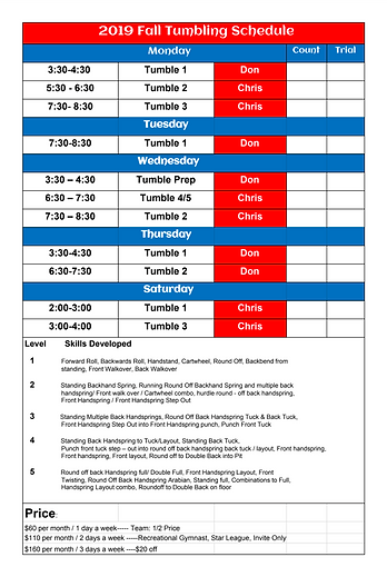 FIF Tumbling Schedule Updated 7.31.19.pn