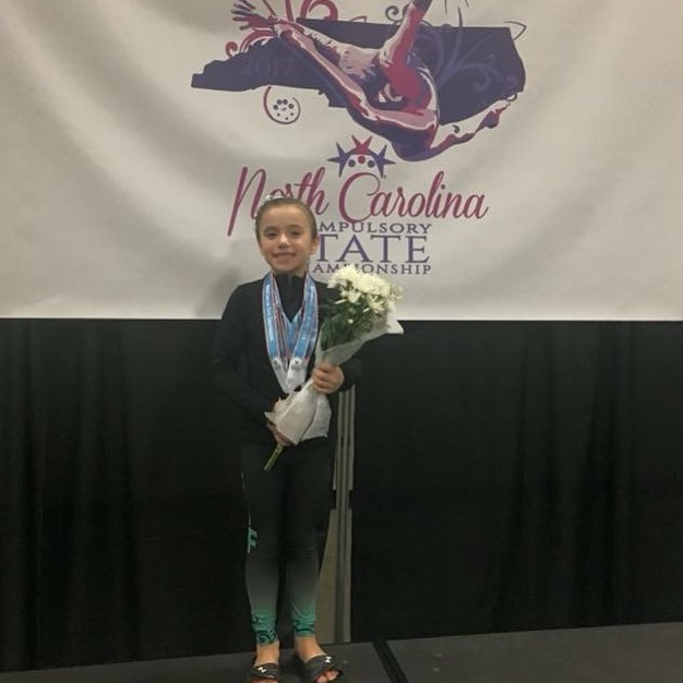 FIF Girls NC State Champion Level 3 Addyson 2017