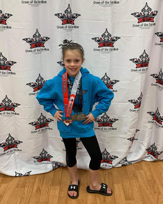 FIF Level 3 Karlee 1st AA Crown of the C