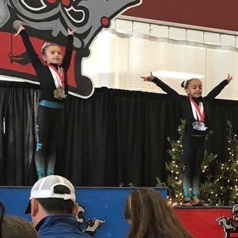 FIF Level 3 Addyson 1st AA Crown 2017