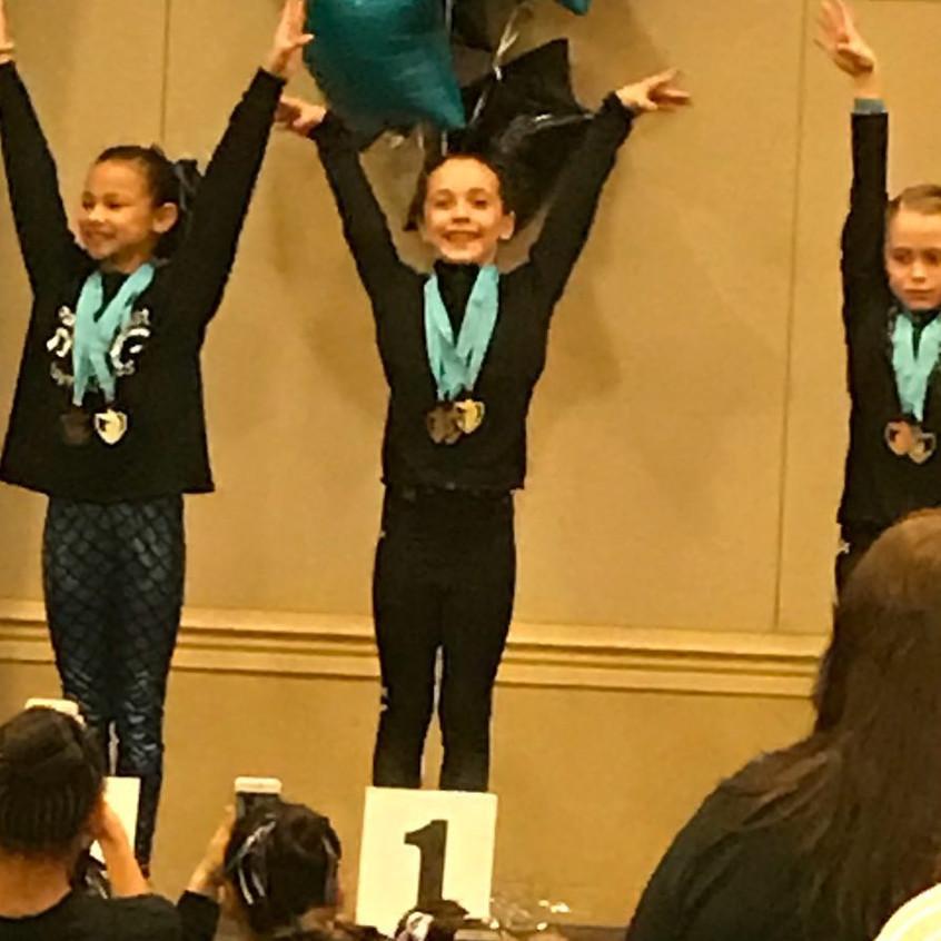 FIF Girls Level 8 Pyper 1st All Around Atlantis Crown Invitational 2017