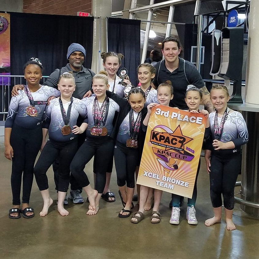 FIF Xcel Bronze 3rd Place Team KPAC 2019