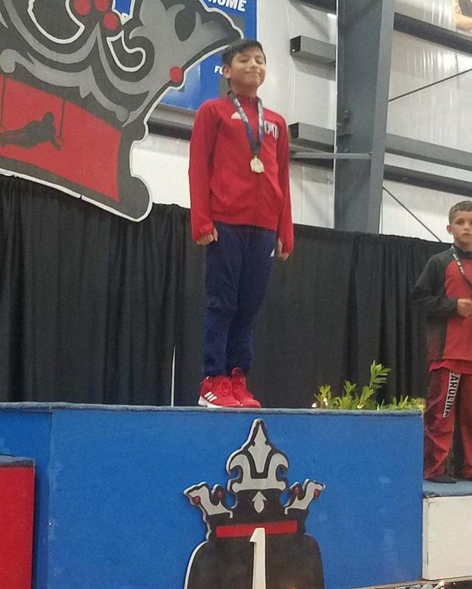 FIF Boys Level 5 David 3rd AA Crown of t