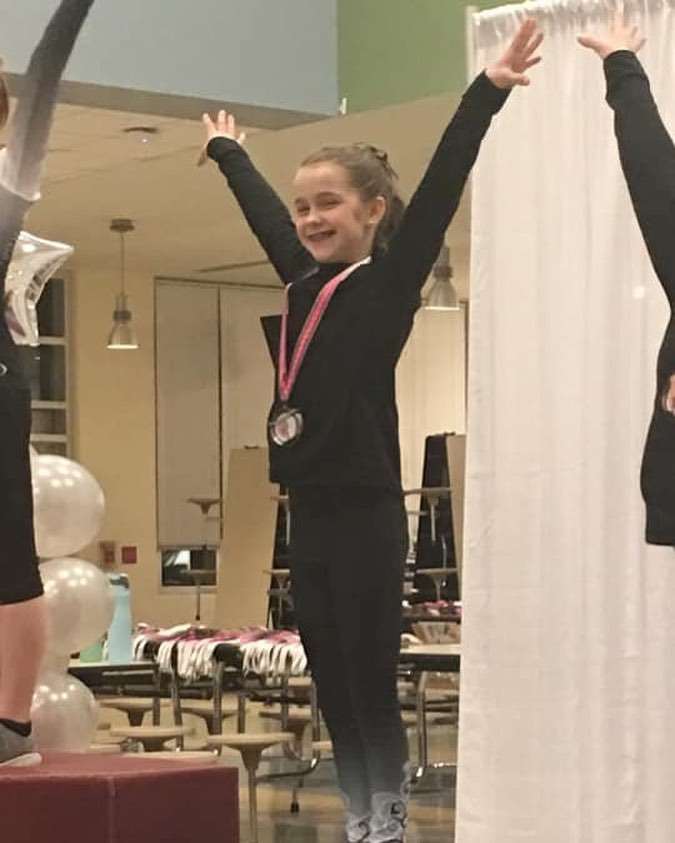 FIF Girls Level 8 Lydia 2nd Bars Everest