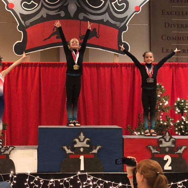 FIF Level 2 Zada and Lacie 1st and 2nd AA Crown 2017