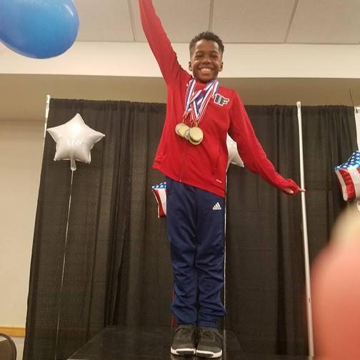 FIF Boys Gymnastics Level 5 1st AA Jonathan NC State Championships 2018