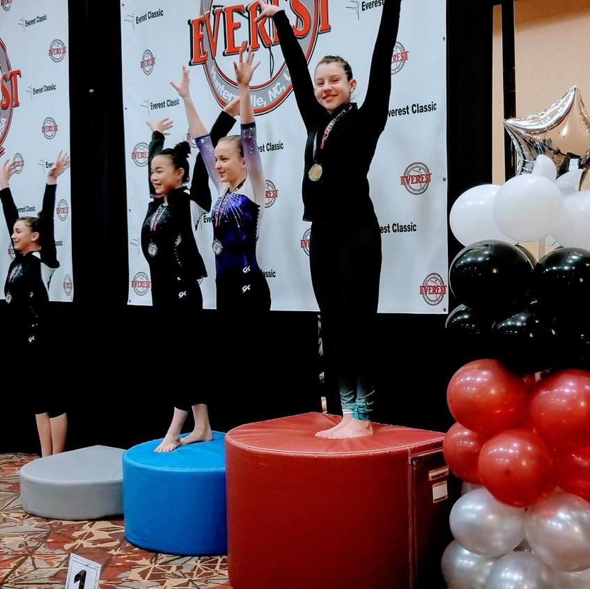 FIF Xcel 1st Vault Platinum Anna Everest Classic 2018