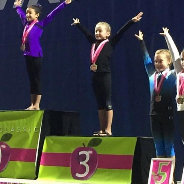 First in Flight Gymnastics Level 3 Finle