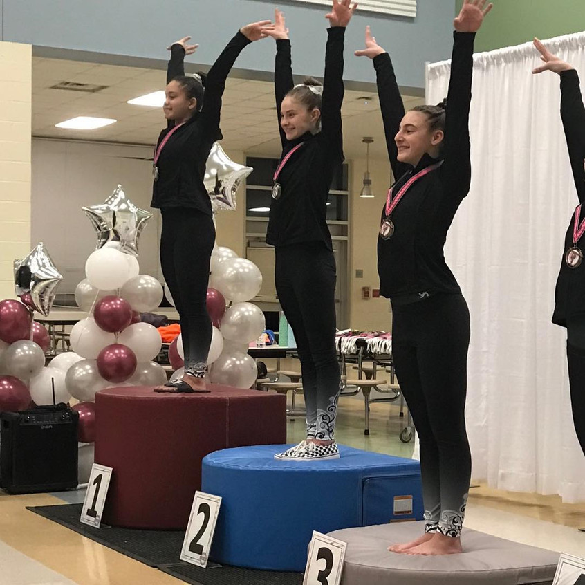FIF Girls Level 8 Gioyvonna 1st AA, Loga