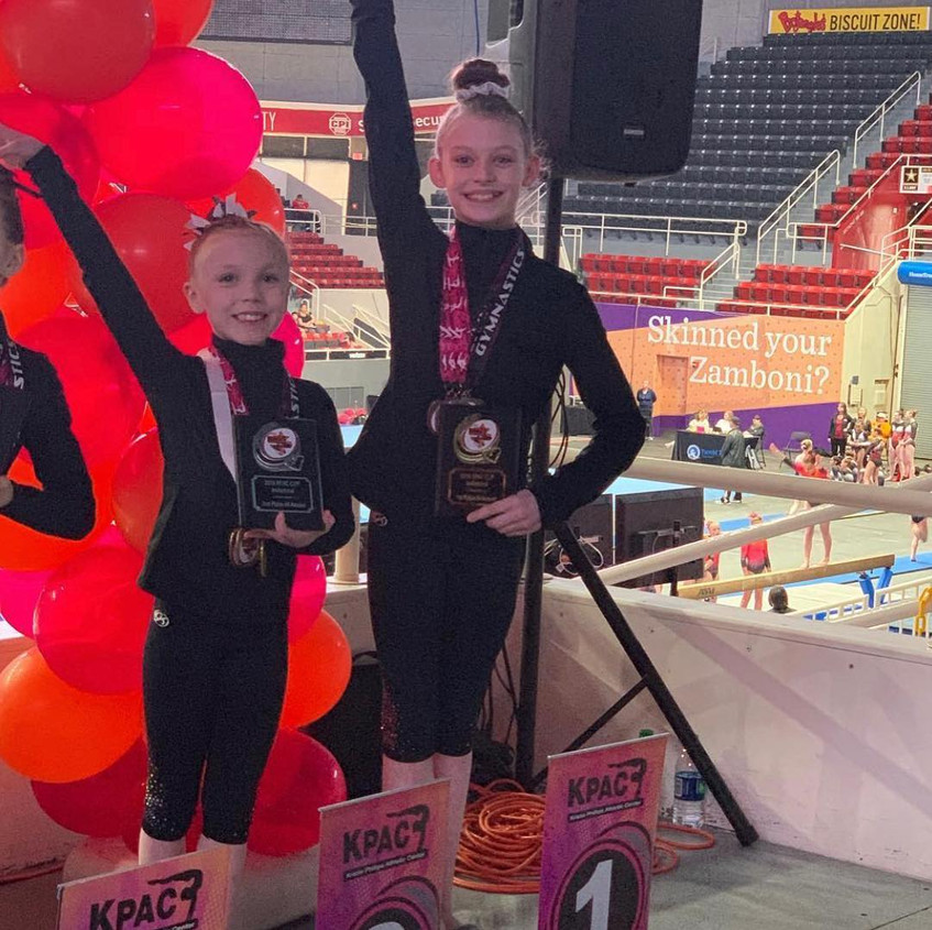 FIF Level 6Rylee and Kylie KPAC 2019