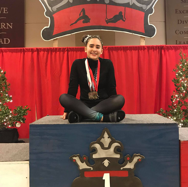 FIF Level 4 Mallory 1st AA Crown 2017