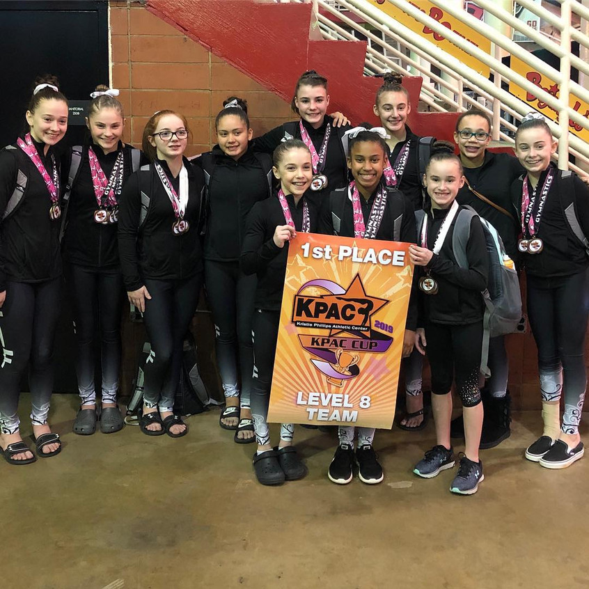 FIF Level 8 1st Place Team KPAC 2019