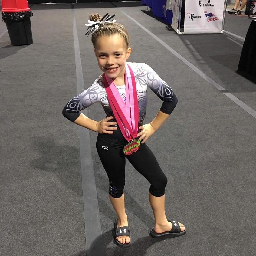 First in Flight Gymnastics Level 4 Karle