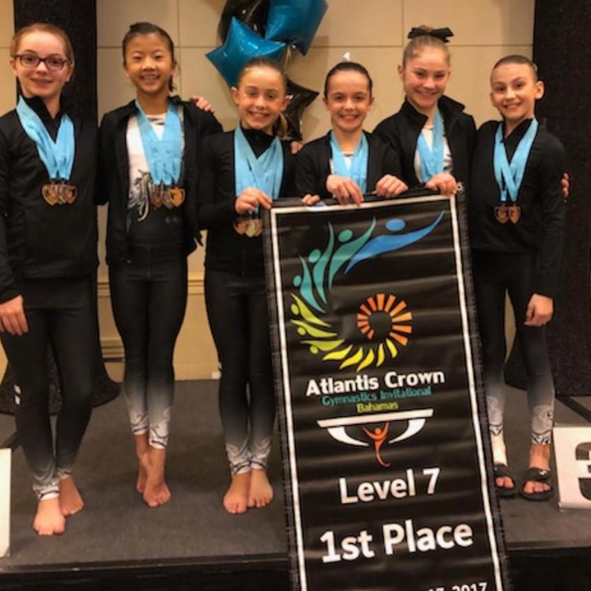 FIF Girls Level 7 1st Place Team Atlantis Crown Invitational 2017