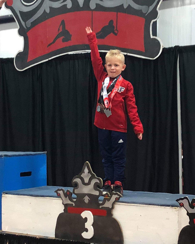 FIF Boys Level 4 Beau 3rd AA Crown of th