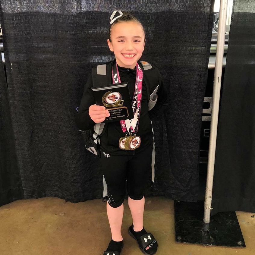 FIF Level 7 Addyson 1st AA KPAC 2019