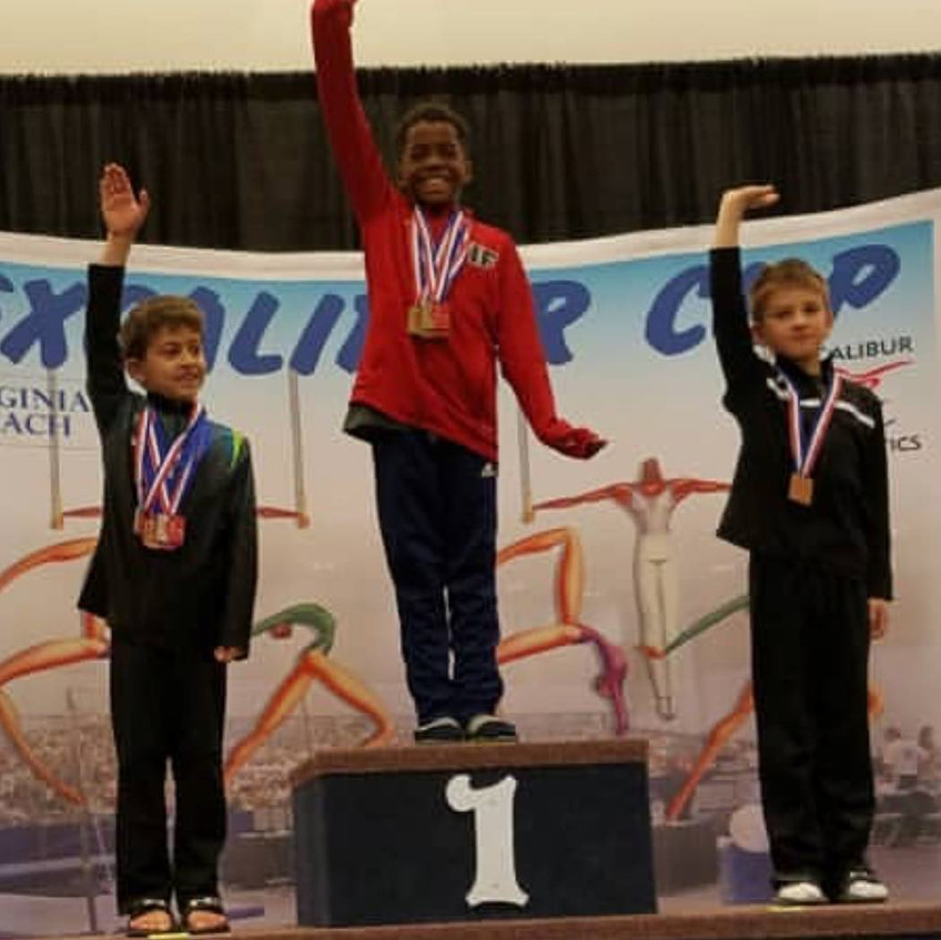 FIF Boys Jonathan Level 5 1st AA Excalibur Cup 2018