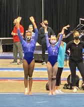 Level 9/10 Regionals and Xcel Gold/Platinum state meet saw great success  - April 16-18, 2021