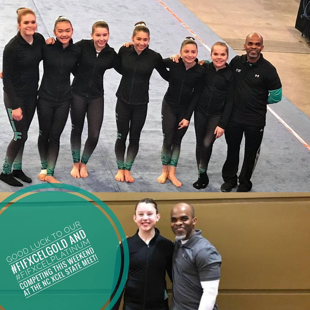 FIF Gymnastics Xcel Gold and Platinum State Championships 2018