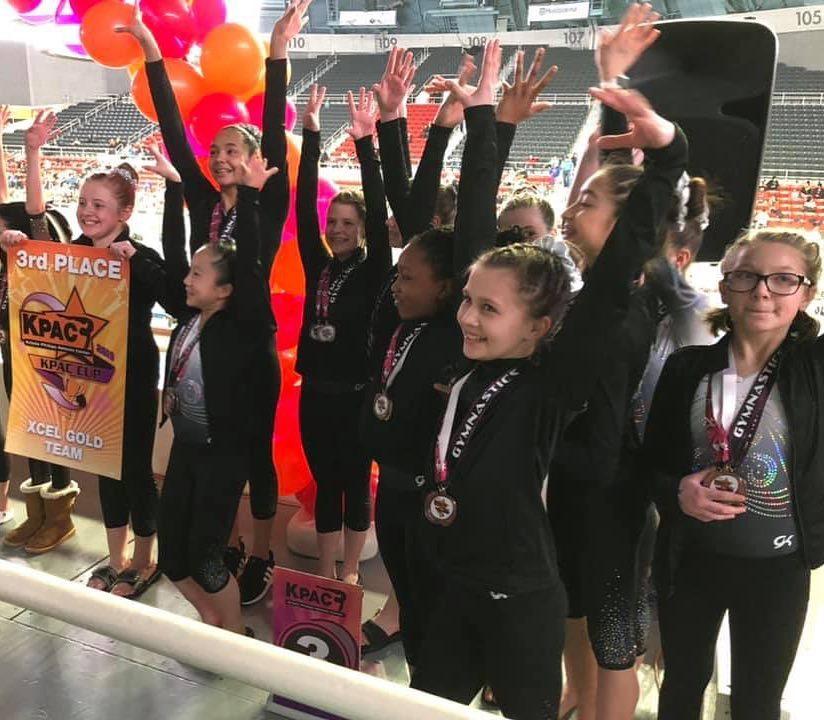 FIF Xcel Gold 3rd Place Team KPAC 2019