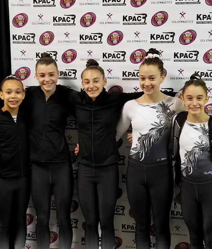 FIF Girls Gymnastics Level 8 KPAC Cup 2018