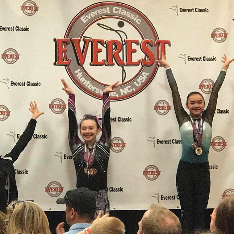 FIF Xcel 1st All Around Gold Alyssa Everest Classic 2018