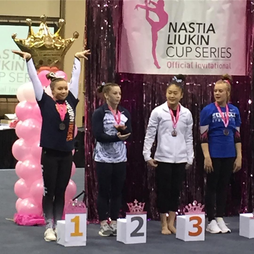 FIF JO Level 10 Piper Smith 1st Vault an