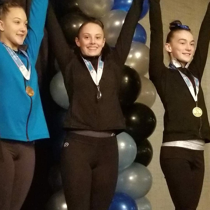 FIF Level 6 Makayla 2nd Vault and Floor