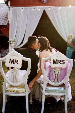 Mr. & Mrs. forever together