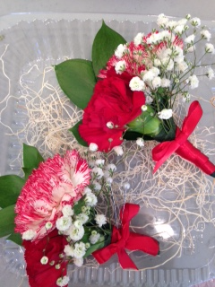Carnation Corsages