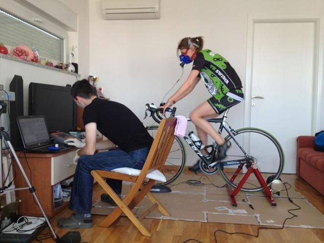 Marina na testiranju sa msi labom