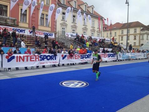 Dalibor Fuštar u cilju _), ali nije jedini swibirovac na 42K u Ljubljani tu je i nasa Maja Urban koja je sprintala u cilj bravo Majo!