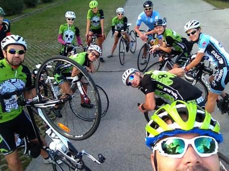 Swibir sunday bike ride selfie