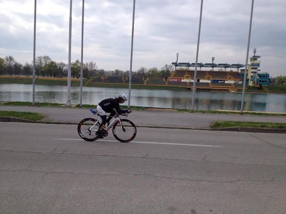 Nakon par godina skupljanja opreme Željka Šaban Miličić konacno testira _spimpanog_ Slice-a za sezonu 2014!