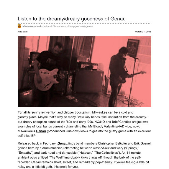 milwaukeerecord.com-Listen to the dreamy