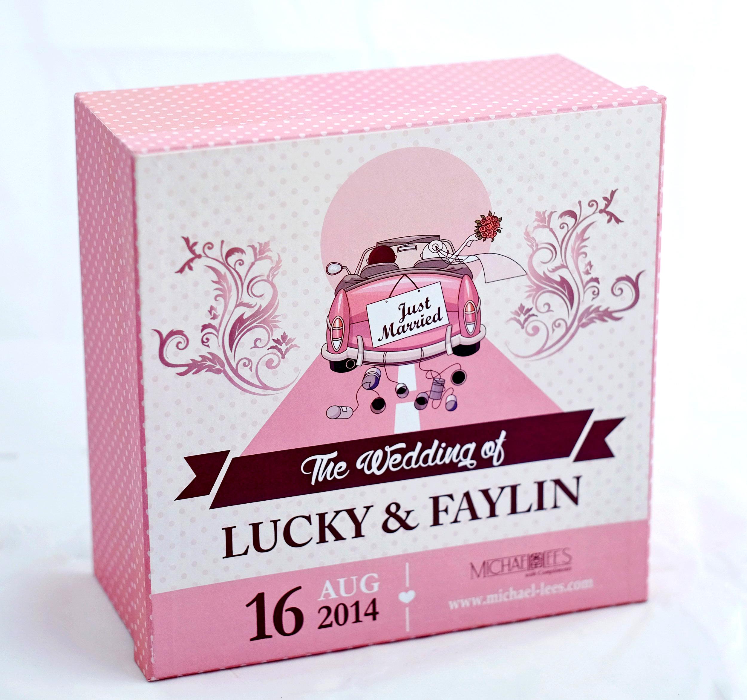 Kotak untuk bingkisan nikah