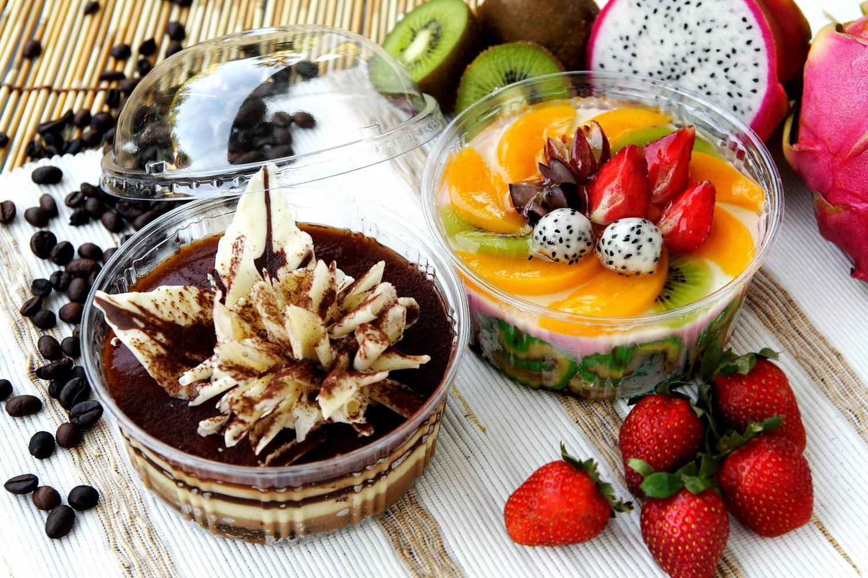 Pudding Dalam Mangkuk 12 cm