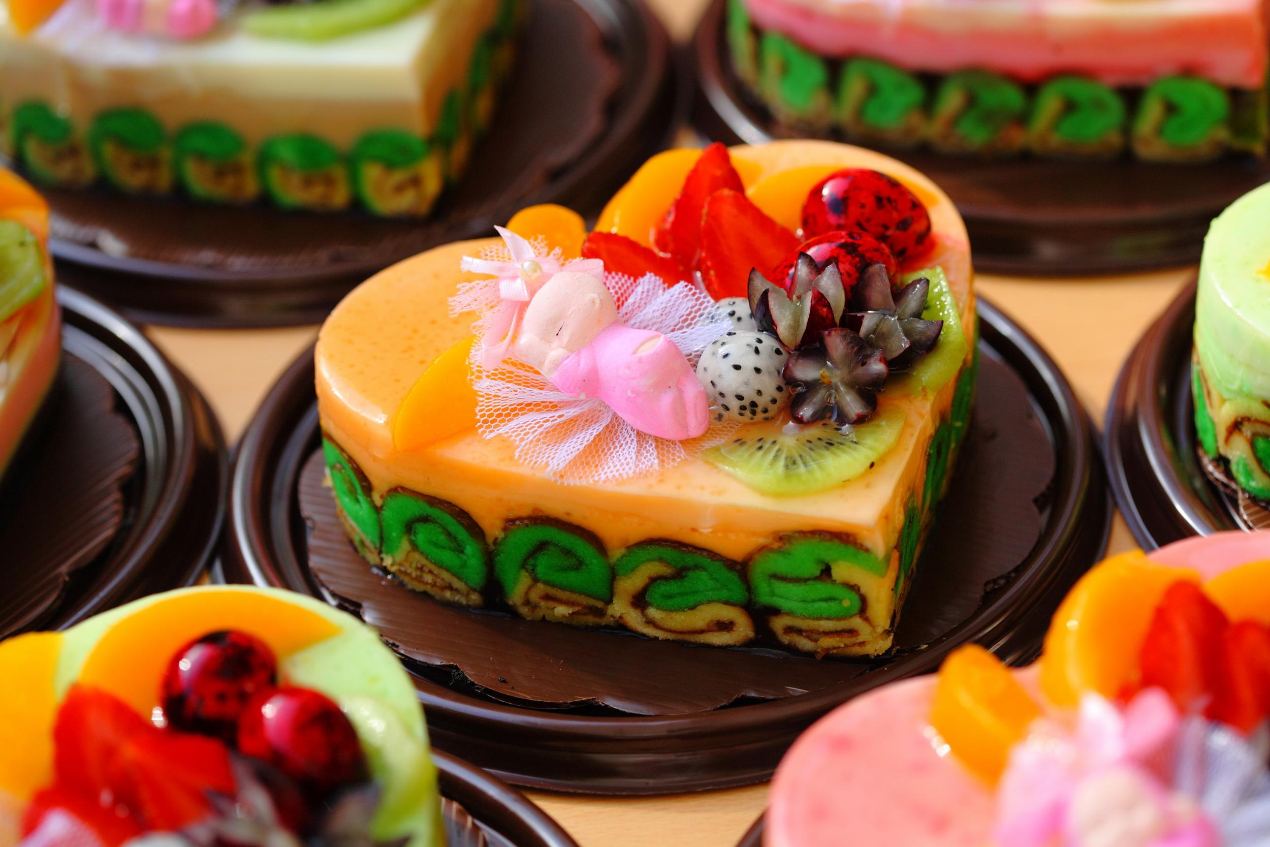 Fruit Pudding OrangeManyee 16cm Hati