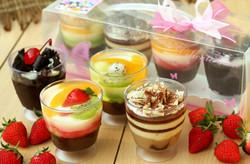 Pudding dalam gelas