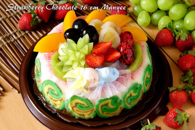 Strawberry Chocolate 16cm