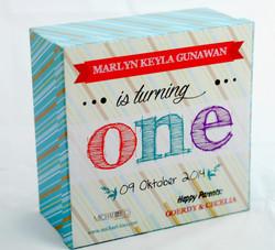 Kotak untuk Manyee pudding 16cm