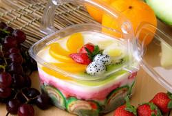 Pudding dalam Keranjang