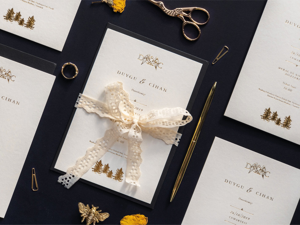 D&C Wedding Invitation